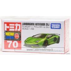 Tomica Tomy No.70 Lamborghini Aventador SVJ (Box) (Tomica)