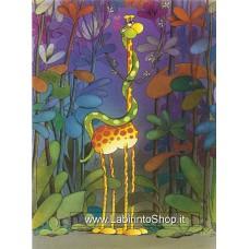 Clementoni - 500 Pezzi - Puzzle  Mordillo Giraffa e Serpente