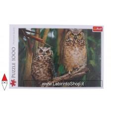 Trefl - 1000 Pezzi - Puzzle - Owls - Gufi