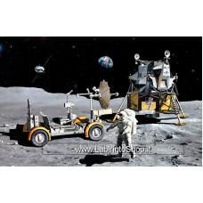 Dragon - 1/72 - Apollo 17 - The last J-mission CSM + LM + Lunar Rover