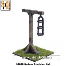 Sarissa - Medieval  - Middle Ages - Gibbet and Cage L018