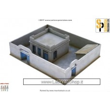 North Africa Colonial - Compound House Set - 15mm 1/100 N607