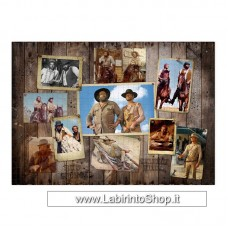 Oakie Doakie Puzzle 1000 pezzi Bud Spencer terence Hill Western Photo Wall 68x48cm