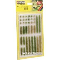 Noch 07125 Grass Strips Light and Dark Green