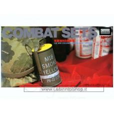 Microace Micro Ace Combat Sets: U.S. M18 Smoke Hand Grenade model kit