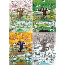 Puzzle - Heye Puzzle - Cartoon Classic - 2000 Pezzi - 4 Seasons