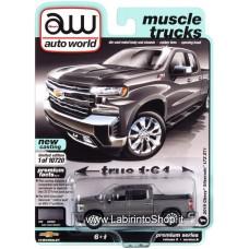 Auto World - Muscle Trucks - 1/64 - 2019 Chevy Silverado LTZ Z71