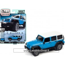 Auto World - Muscle Trucks - 1/64 - 2018 Jeep Wrangler JK Unlimited Sport