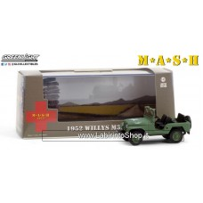 Greenlight Hollywood Series 1/43 Scale Die-Cast Metal Vehicle - 1952 Willys M38 A1