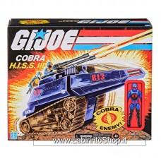 G.I. Joe Retro Collection Series Vehicle with Figure Cobra H.I.S.S. III & Rip It