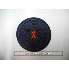 Patch Dark Blue Star