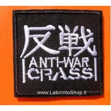 Patch Anti-War Crass