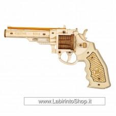 ROKR Justice Guard Revolver - Kit puzzle 3D in legno