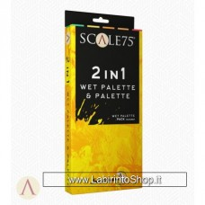 Scale 75 - Complements - 2 in 1 Wet Palette and Palette