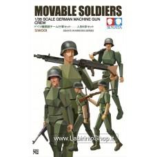 Suyata Movable Soldiers 1/35 Scale German Machine Gun Crew