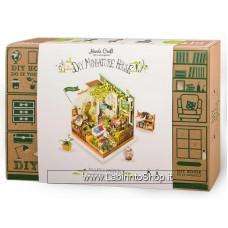 New Hands Craft 3D Puzzle DIY Dollhouse - Miller's Garden