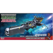 Hasegawa 64787 Super Pirate Battleship ARCADIA Third Ship Captain Harlock 1/2500 Creator Works Scale Kit