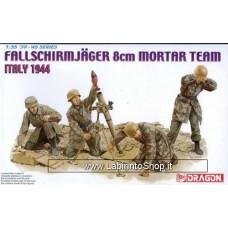 Dragon 1/35 Fallschirmjager 8cm Mortar Team Italy 1944