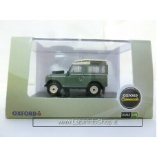 Oxford 1/76 Land Rover Series II Station Wagon Pastel Green