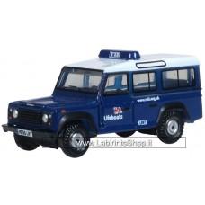 Oxford N-Gauge Land Rover Defender Station RNLI