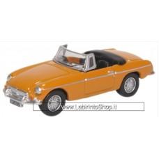 Oxford 1/76 MGB Roadster Bronze Yellow